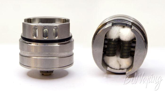 Vandy Vape PHOBIA 2 RDA - установка испарительной камеры