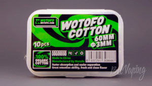 Wotofo COTTON - упаковка