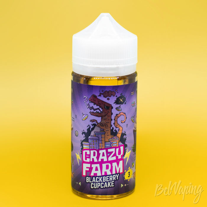 Crazy Farm – Blackberry Cupcake
