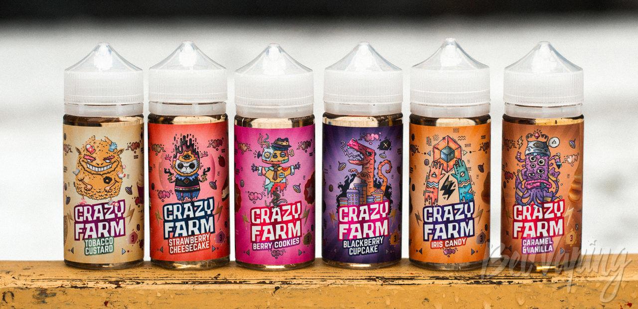 Обзор жидкости Crazy Farm от Oboima Liquid