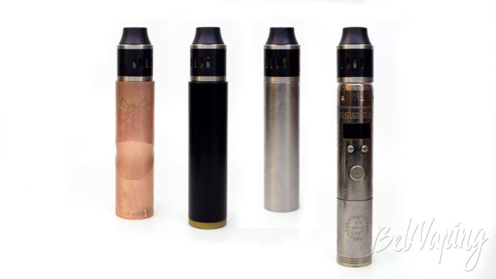 Cthulhu SHURIKEN RDA - на разных батарейных блоках