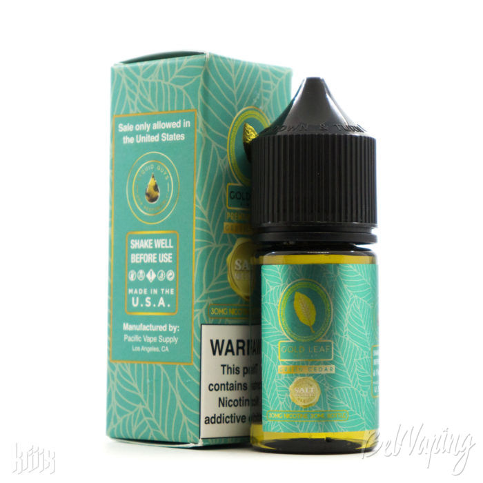 Жидкость Gold Leaf SALT - Green Cedar