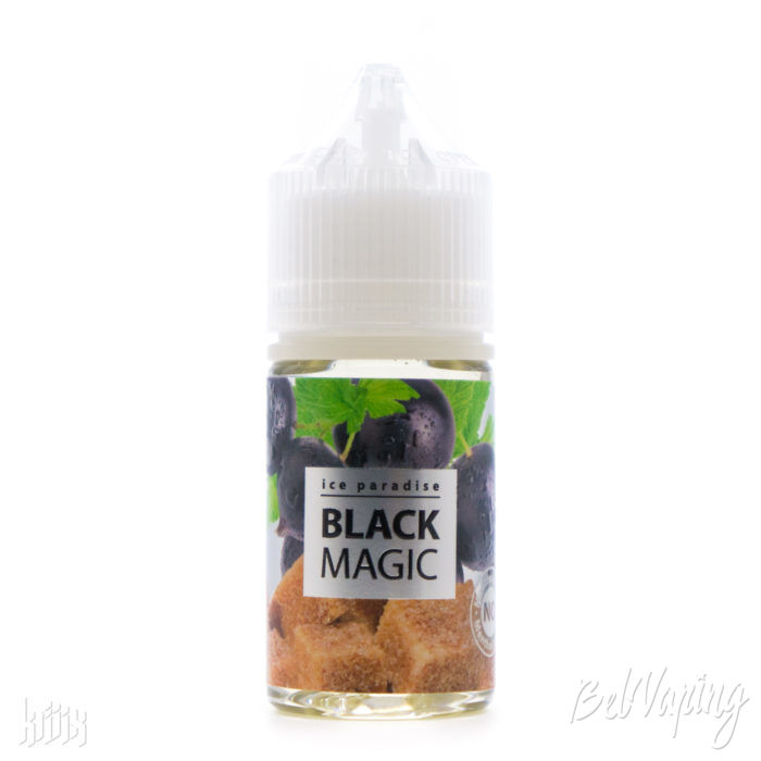 Жидкость Ice Paradise Salt Black Magic