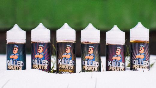 Обзор жидкости Killed Fruits от Oboima Liquid
