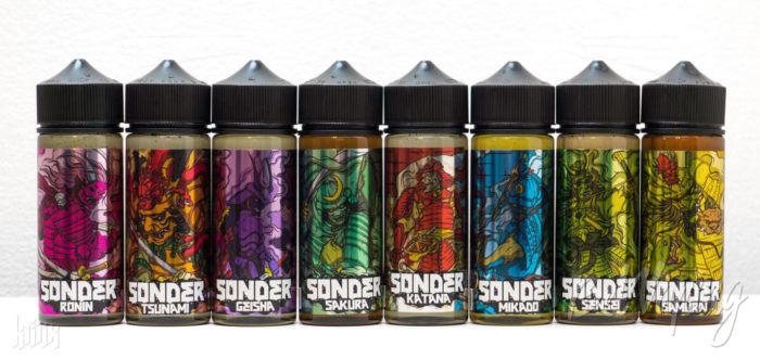 Линейка жидкости Sonder