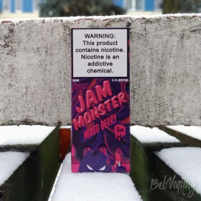 Упаковка Jam Monster Mixed Berry