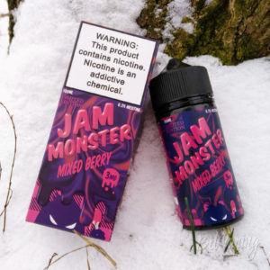 Тара и этикетка Jam Monster Mixed Berry