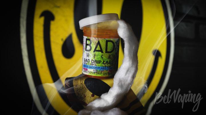 Обзор ваты Bad Wick от Bad Drip