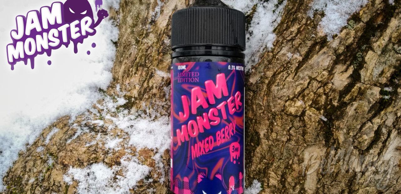 Обзор жидкости Jam Monster Mixed Berry