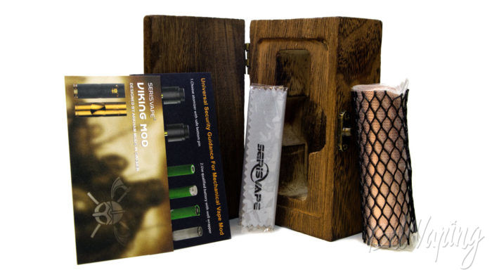 Serisvape VIKING MOD - комплект поставки
