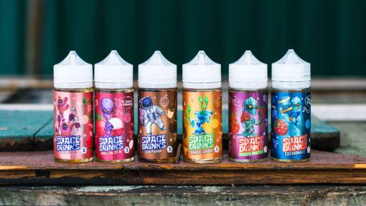Обзор жидкости Space Drinks от Oboima Liquid