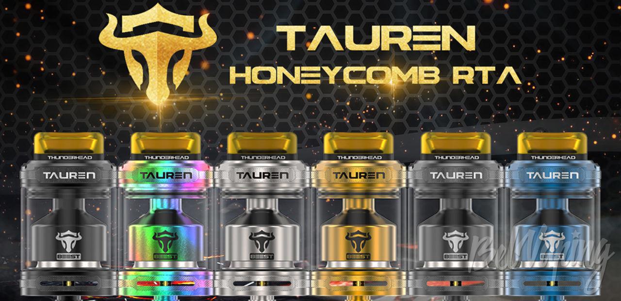 THC Tauren RTA. Первый взгляд