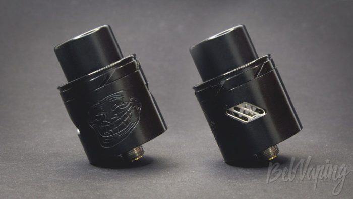 Обзор Wotofo THE TROLL V2 DRA 25mm