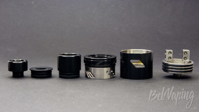 Wotofo THE TROLL V2 DRA 25mm - составные части