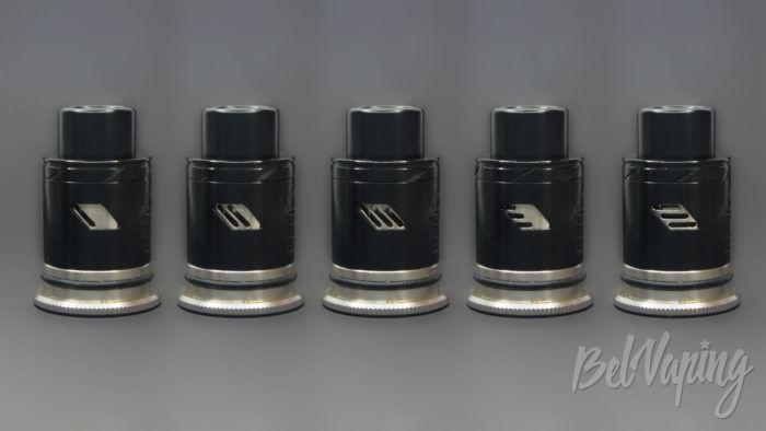 Wotofo THE TROLL V2 DRA 25mm - регулировка обдува