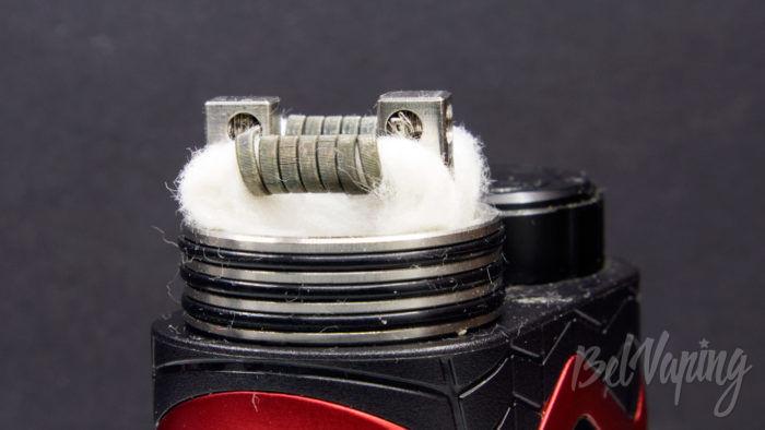 Wotofo THE TROLL V2 DRA 25mm - укладка хлопка