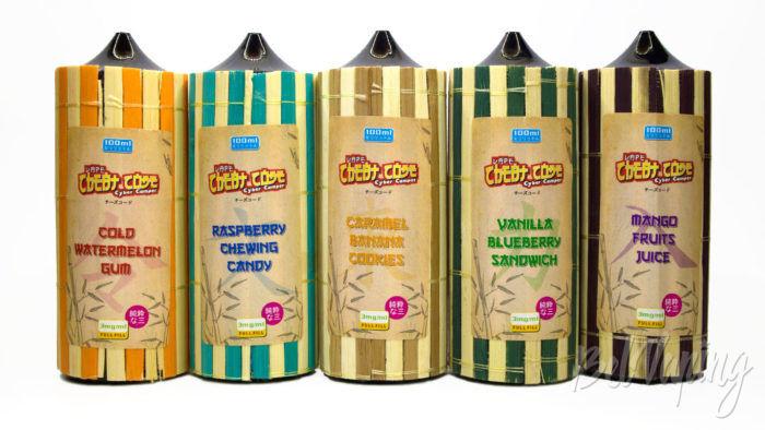 Жидкость CHEAT CODE от Wooden Cloud - упаковка