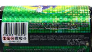 Жидкость CHEAT CODE от Wooden Cloud - информация на этикетке