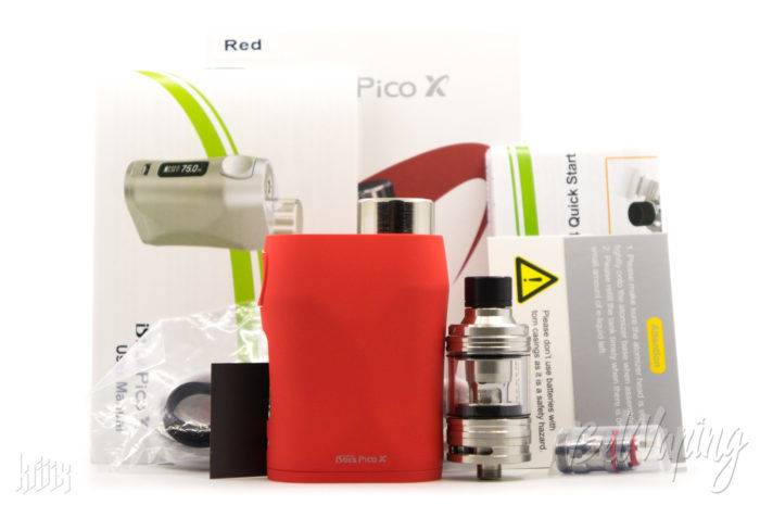 Комплектация iStick Pico X with MELO 4