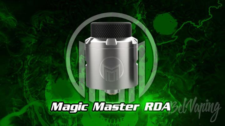 Acevape Magic Master RDA. Первый взгляд