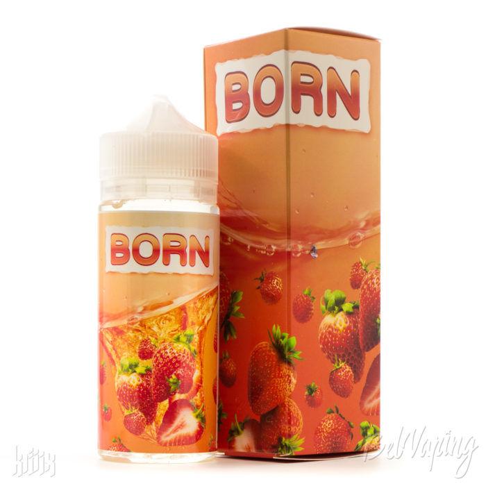 Жидкость BORN NEW Клубника и земляника