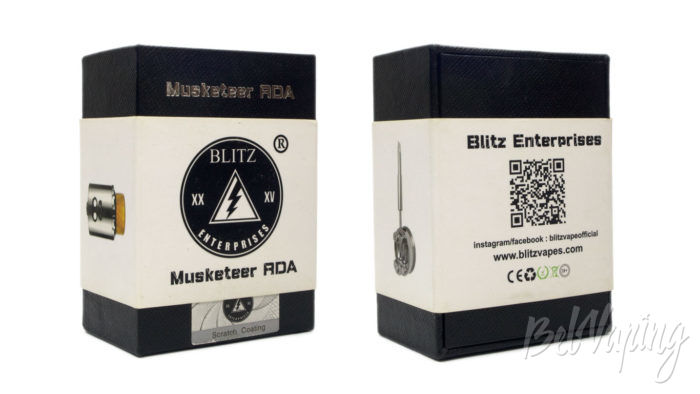 Blitz MUSKETEER RDA - упаковка