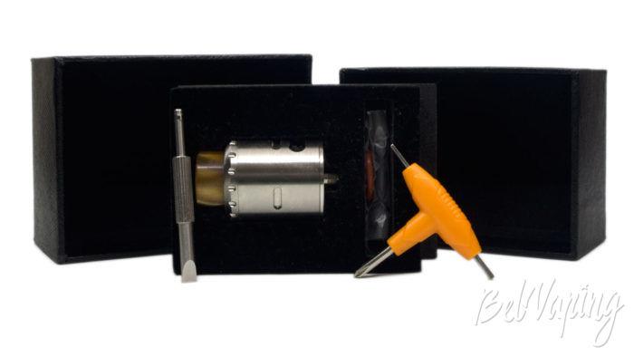 Blitz MUSKETEER RDA - комплект поставки