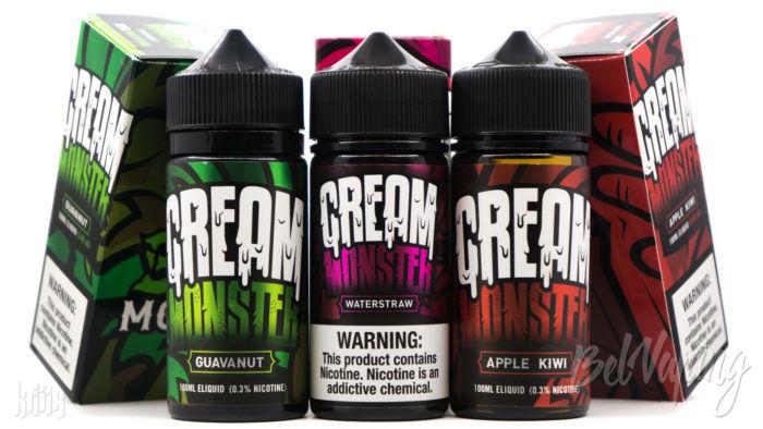 Линейка жидкости Cream Monster