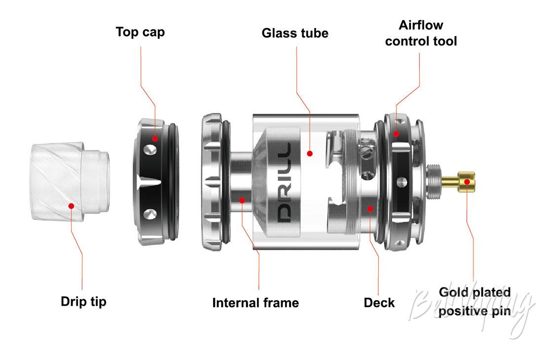 Конструктив Damselfly Drill RTA
