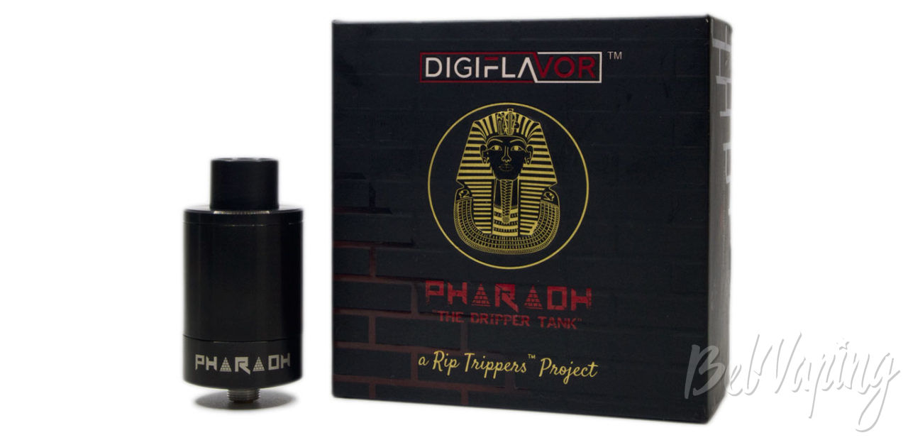 Обзор Digiflavor PHARAOH Dripper Tank