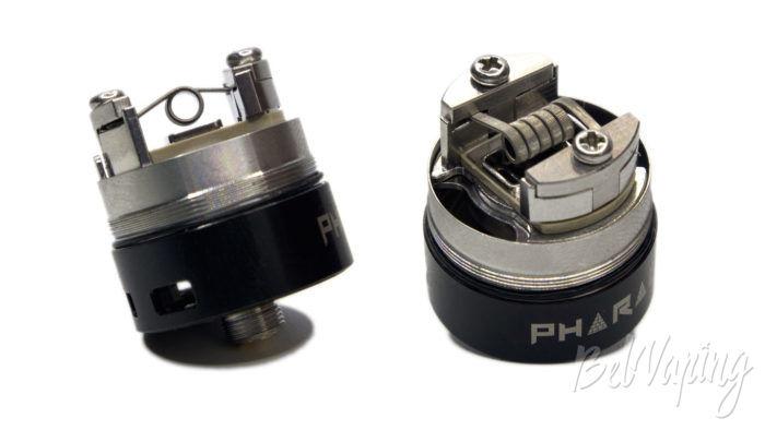 Digiflavor PHARAOH Dripper Tank - установка намотки