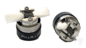 Digiflavor PHARAOH Dripper Tank - укладка хлопка