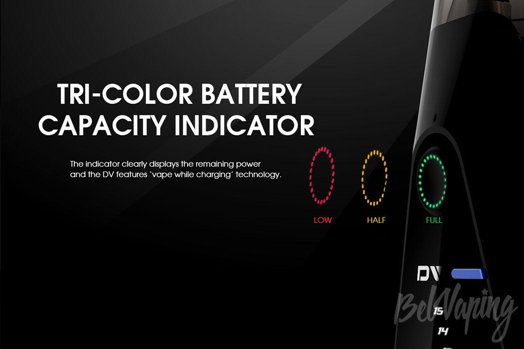 Цветовая индикация Innokin DV Kit