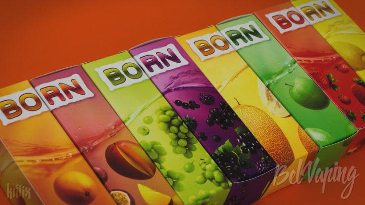 Обзор жидкости BORN NEW от MonSmoke