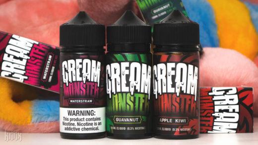 Обзор жидкости Cream Monster от Cloud Stout