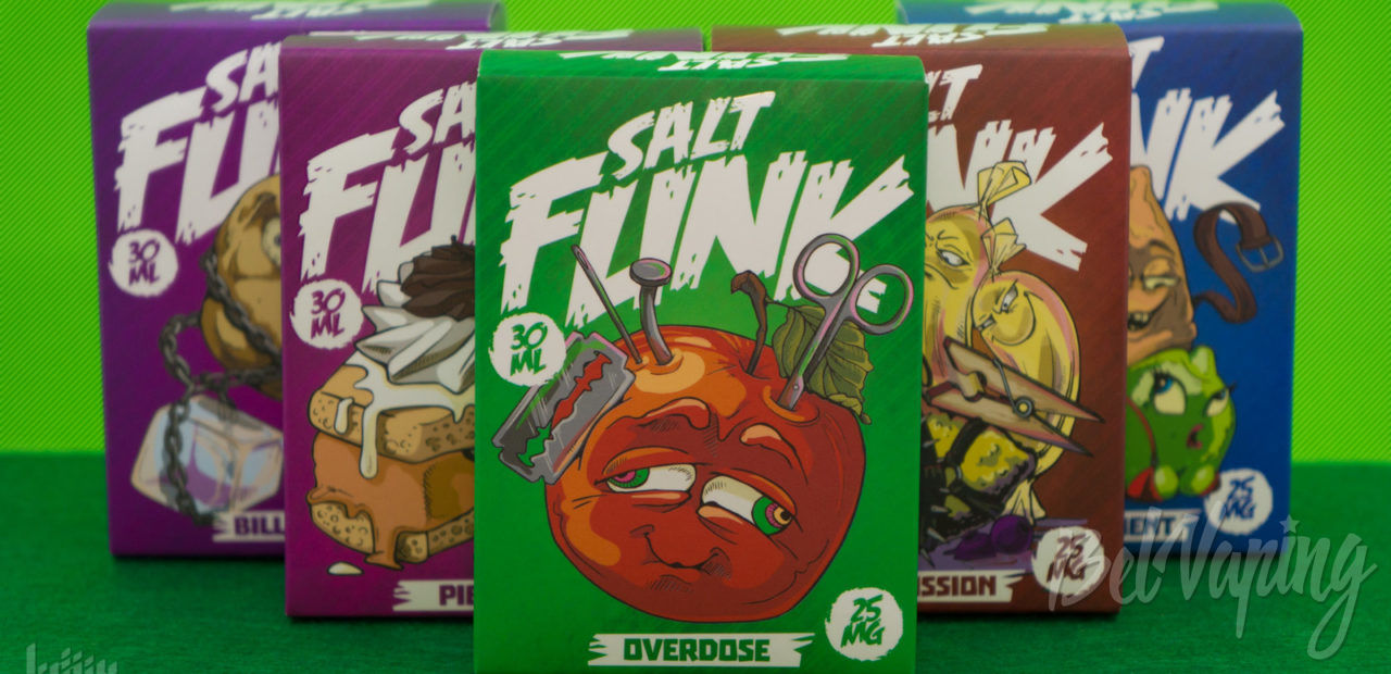 Обзор жидкости Salt Funk от Vaping Boom