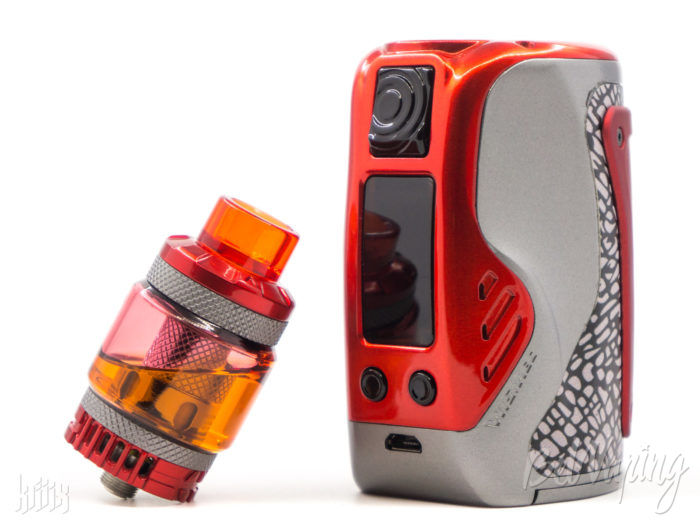 Внешний вид набора Wismec REULEAUX TINKER with COLUMN