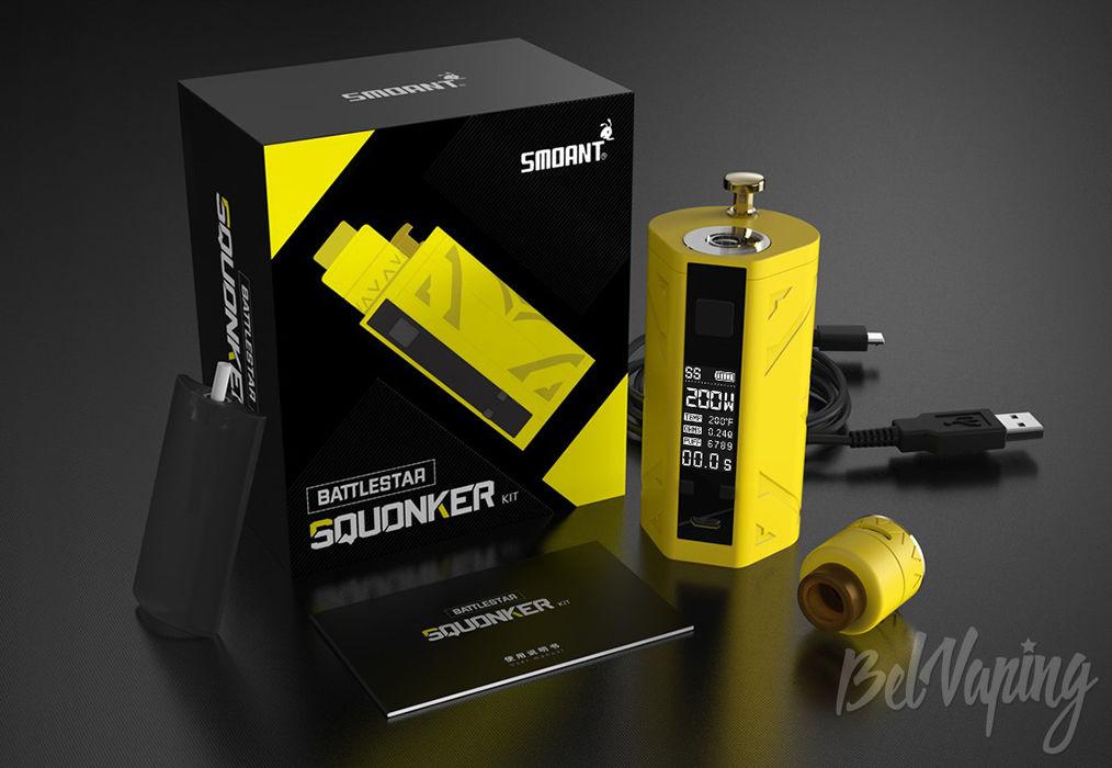 Комплектация Smoant Battlestar Squonker Kit
