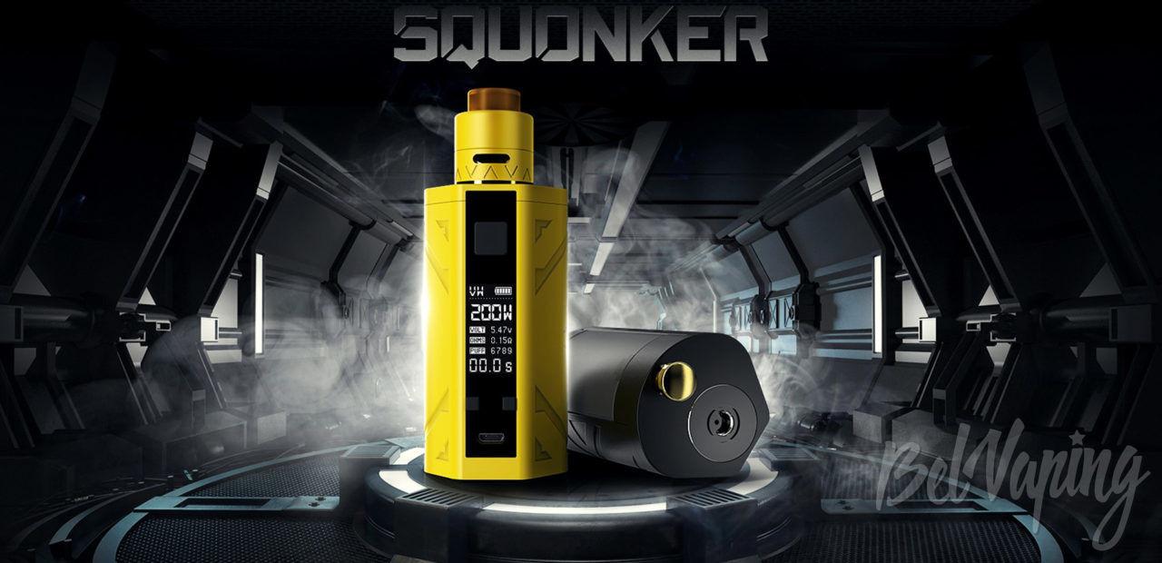 Smoant Battlestar Squonker Kit. Первый взгляд