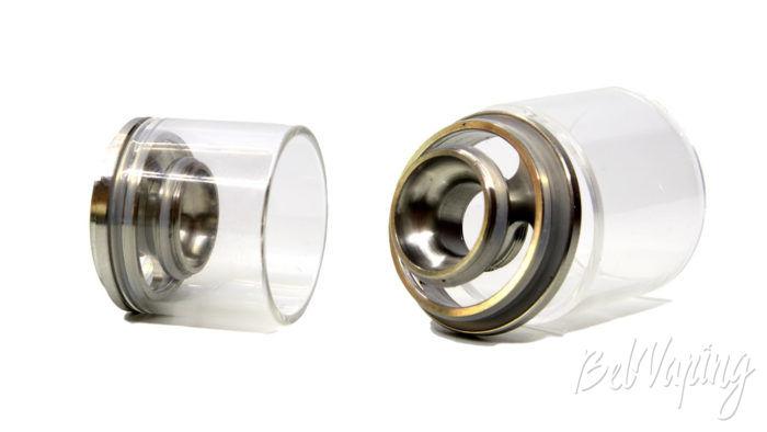 Smoant NABOO TANK - заправочная горловина и верх испарительной камеры