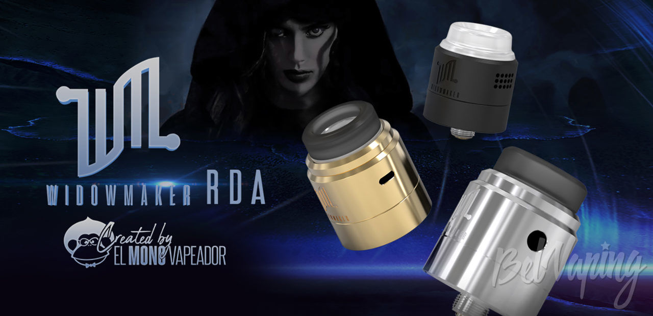 Vandy Vape Widowmaker RDA. Первый взгляд
