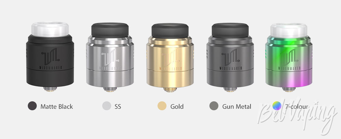 Цвета Vandy Vape Widowmaker RDA