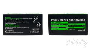 Wotofo RYUJIN (Elder Dragon) RDA - упаковка