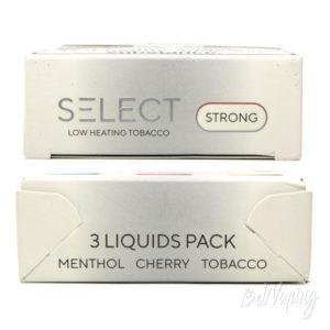 Жидкость SELECT Low Heating Tobacco - упаковка