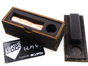 Упаковка оригинала мехмода GLM V3