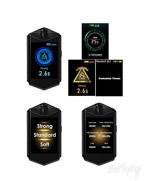 Режимы Asvape Touch Pod Starter Kit