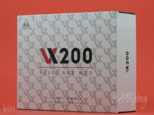 Упаковка боксмода Augvape VX200