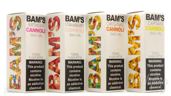 Линейка жидкости BAM'S CANNOLI