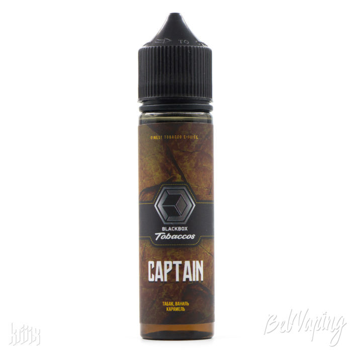 Жидкость Blackbox Tobaccos - CAPTAIN