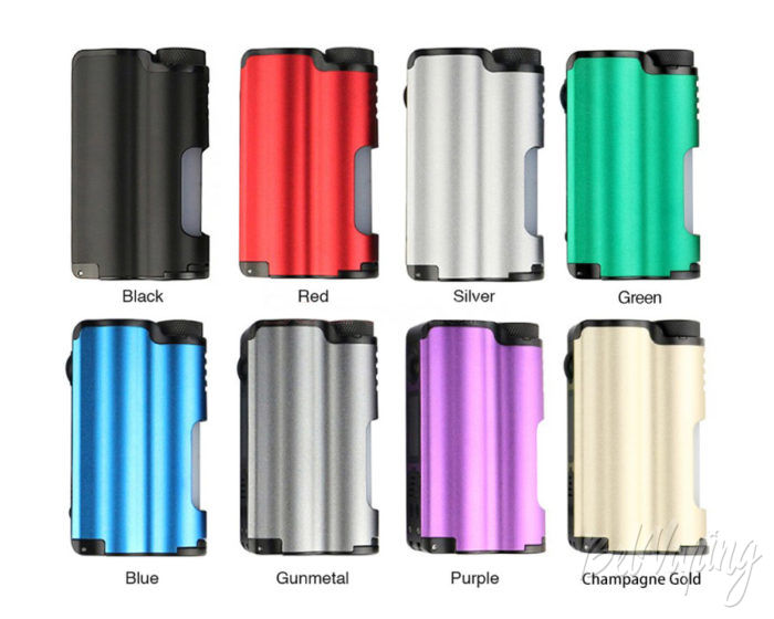 Tops Squonk Mod colors from Dovpo and TVC